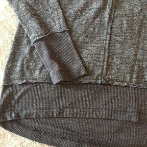 Democracy Tops - Democracy | lightweight gray sweatshirt S